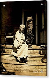 Acrylic Print featuring the photograph Grandma Jennie by Paul W Faust - Impressions of Light