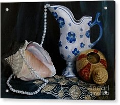Grandma's Collection Acrylic Print by Patricia Lang