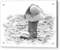 Acrylic Print featuring the photograph Grandma's Hat by Kerri Ligatich