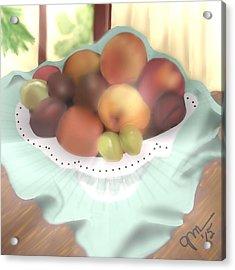 Grandma's Table Acrylic Print