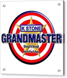 Grandmaster Version 2 Acrylic Print