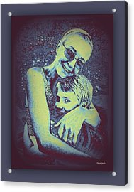 Grandmother Love Acrylic Print