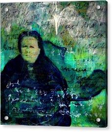 Grandmother Maggie-study Acrylic Print