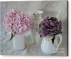 Acrylic Print featuring the photograph Grandmother's Vanity Top by Sherry Hallemeier