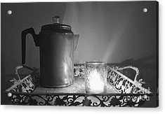 Grandmothers Vintage Coffee Pot Acrylic Print