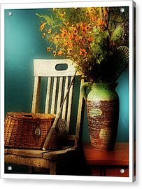 Grandpa's Fishing Pole Acrylic Print