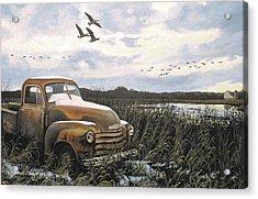 Grandpa's Old Truck Acrylic Print