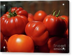 Grandpas Tomatoes Acrylic Print