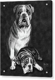 Grandson Of Sampson Acrylic Print by Peter Piatt