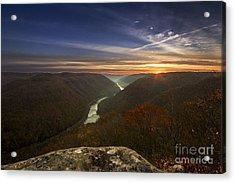 Grandview Sunrise Acrylic Print
