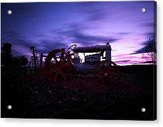 Grandview Sunset Acrylic Print