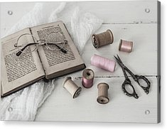 Acrylic Print featuring the photograph Grannys Treasures by Kim Hojnacki