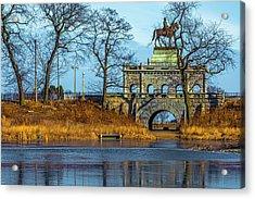 Grant Memorial Lincoln Park Dsc3218 Acrylic Print