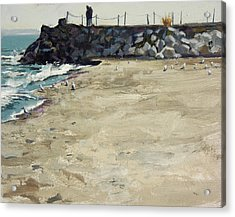 Grant Park Beach No. 5 Acrylic Print by Anthony Sell