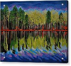 Grant's Lake Reflections Acrylic Print