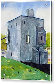Granuaile's Castle Behind The Hill Acrylic Print