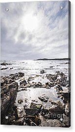 Granville Harbour Seascape Acrylic Print by Jorgo Photography - Wall Art Gallery