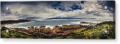 Granville Tasmania Panoramic Acrylic Print