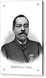 Granville Woods, American Inventor Acrylic Print