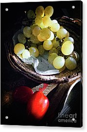 Grapes And Tomatoes Acrylic Print