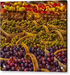 Grapes Galore Acrylic Print