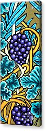 Grapes Acrylic Print by Genevieve Esson