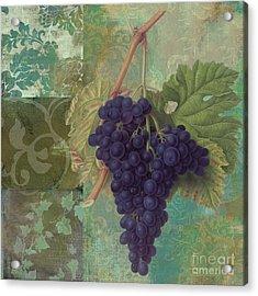 Grapes Margaux Acrylic Print