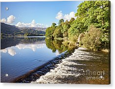Acrylic Print featuring the photograph Grasmere, Lake District National Park by Colin and Linda McKie