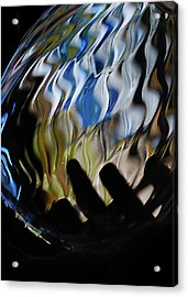 Acrylic Print featuring the photograph Grasping At Curves by Susan Capuano