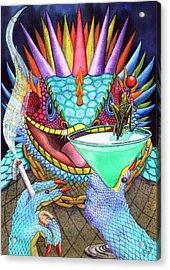 Grasshopper Acrylic Print by Catherine G McElroy