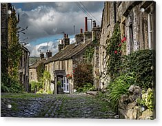 Grassington Acrylic Print by Yorkshire In Colour