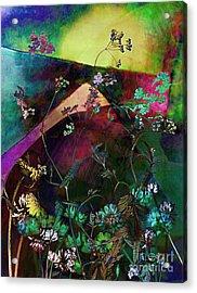 Grassland Series No. 6 Acrylic Print by Vinson Krehbiel