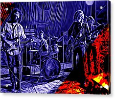 Grateful Dead Collection Acrylic Print by Marvin Blaine