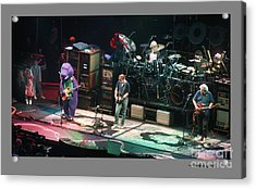 Grateful Dead Jammin With Barney Acrylic Print