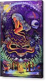 Grateful Nights Acrylic Print