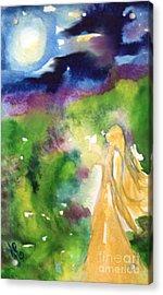 Gratitude Acrylic Print by Julie Engelhardt