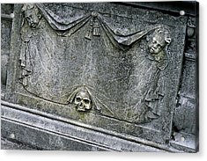 Grave Business Acrylic Print by Robert Joseph