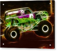 Grave Digger Monster Truck Acrylic Print