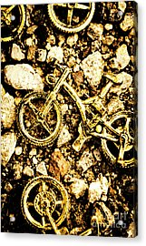 Gravel Bikes Acrylic Print by Jorgo Photography - Wall Art Gallery