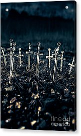 Gravely Battlefield Acrylic Print by Jorgo Photography - Wall Art Gallery