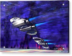 Gravitational Forces Acrylic Print by Corey Ford