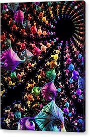 Gravitational Pull Acrylic Print by Kathy Kelly