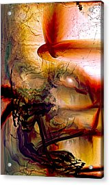 Gravity Of Love Acrylic Print by Linda Sannuti
