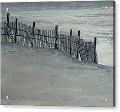 Gray Day Acrylic Print by Jeffrey Engle