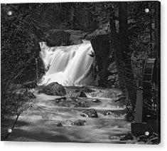 Gray Eagle Falls Acrylic Print