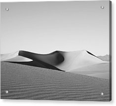 Gray Acrylic Print by Mike Irwin