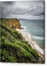 Acrylic Print featuring the photograph Gray Skies by Perry Webster