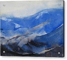 Gray Sky Acrylic Print by Helen Hayes