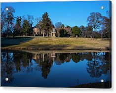 Graylyn House In Reflection Acrylic Print