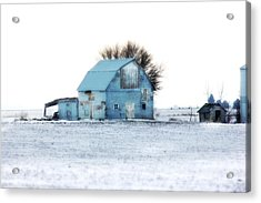 Acrylic Print featuring the photograph Grays by Julie Hamilton